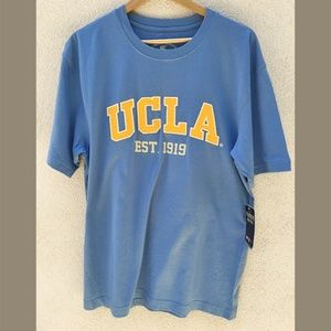 NWT, Mens UCLA T Shirt with Embroidered Lettering